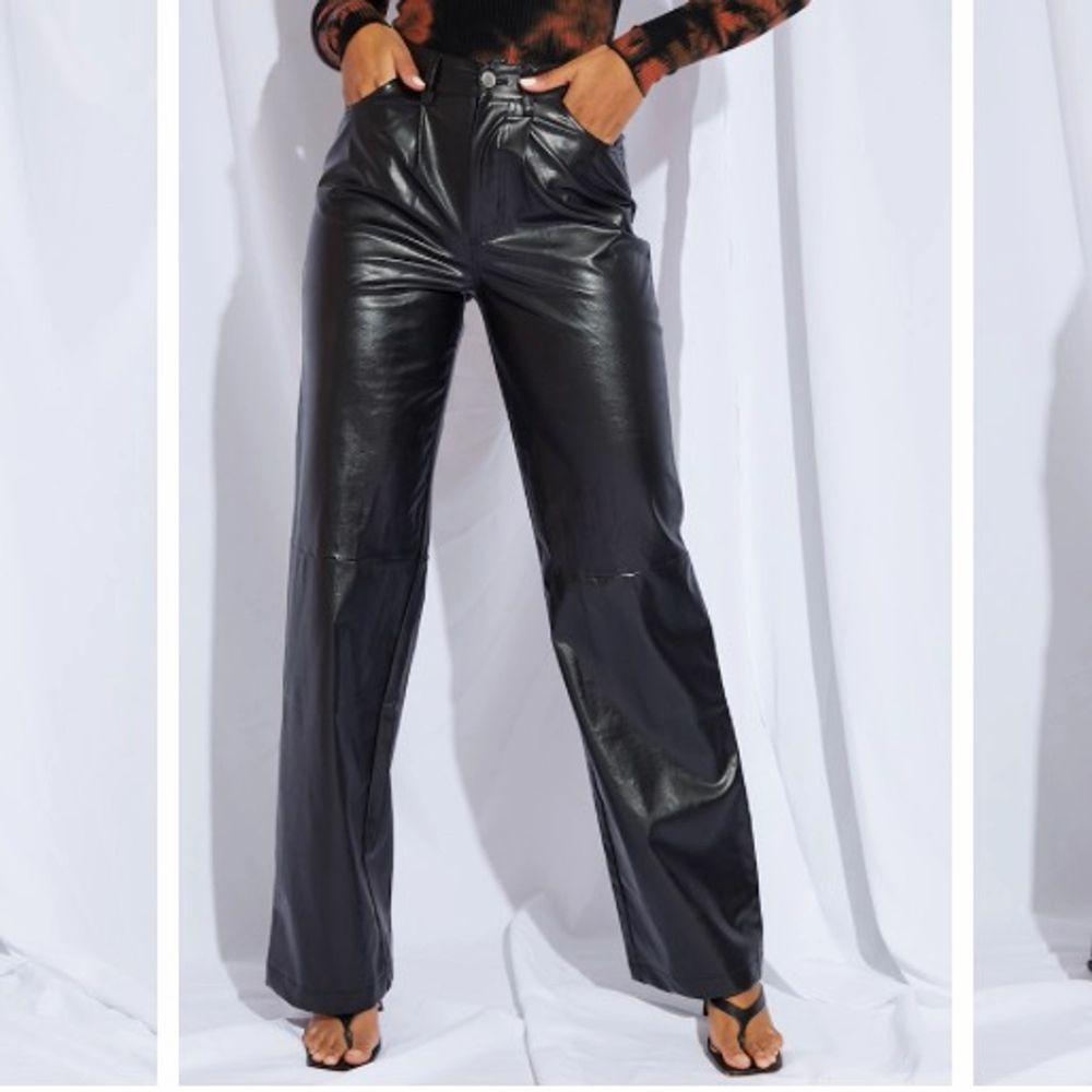 Läder byxor från PLT. HELT OANVÄNDA (lappen sitter kvar)!. Jeans & Byxor.