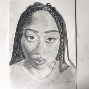 Kan rita ett porträtt av dig eller någon du känner eller din outfit👠    !Du bestämmer priset!(eller ja de måste iaf vara mer än 20kr) Ritar klart bilden på några dagar🤓 Alla bilder är i blyerts/svartvitt