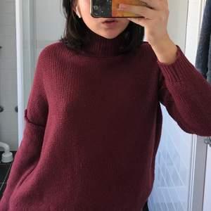 Cute crochet red jumper