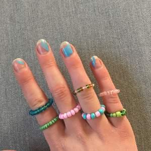 Säljer ringar som jag gjort själv! Välj designen själv här är bara några förslag💗 skriv om du är intresserad så kan priserna diskuteras