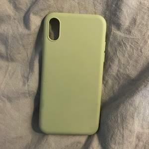 Helt nytt grönt mobilskal för iPhone X som aldrig har används
