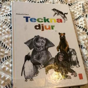 """Bok """" Teckna djur"""". Jätte fina och användbara beskrivningar om hur man tecknar djur"""