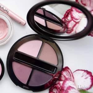 Kiko eyeshadow paletten i färgen 02 Fiery Rose, använd enstaka gång bara 🌺