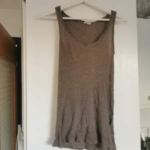 Beige/brunt linne från American vintage, strl S, frakt ingår i priset 🌺