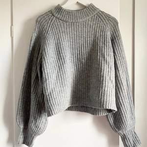 Ny stickad tröja från Gina tricot, nypris 299kr