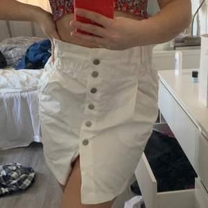 Kjol från Zara i kostymbyx material, aldrig använd