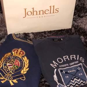 En Morris och Raplh Lauren tröja, båda är i storlek S och långärmade sweatshirts. 150 styck