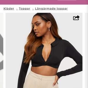 Säljer denna superfina tröja från Nelly. Säljer då den var för liten för mig. Helt oanvänd endast testas en gång. Köpt för 299kr.