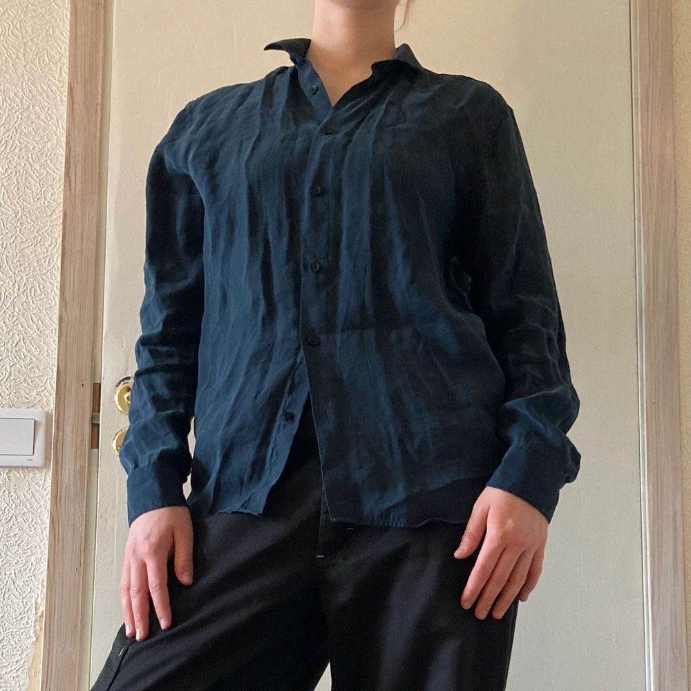 Väldigt bekväm skjorta från Denimes i mjukt material. Aldrig använd! Frakt ingår! ⭐️. Skjortor.