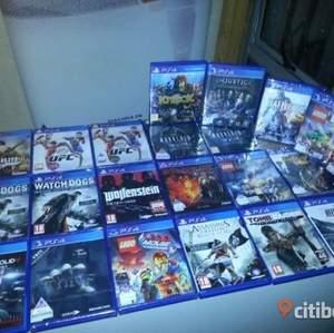 Säljer massor av olika ps4 spel. Hör av dig så ska jag kolla vad jag har!  (Inte min bild)