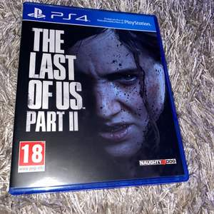 The Last Of Us Part II spel för PS4, endast spelat en gång, köpt för 650kr. Säljer då jag inte använder PS4 längre. Super bra skick. Betalning swish.