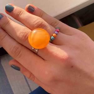 Hemgjorda ringar som är justerbara! Frakt tillkommer och pris kan diskuteras🥰🥰