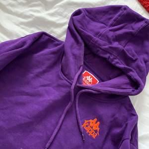 Lila hoodie från kappa, storlek L (overaized)