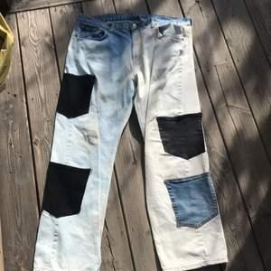 Säljer mina custom jeans från förra året