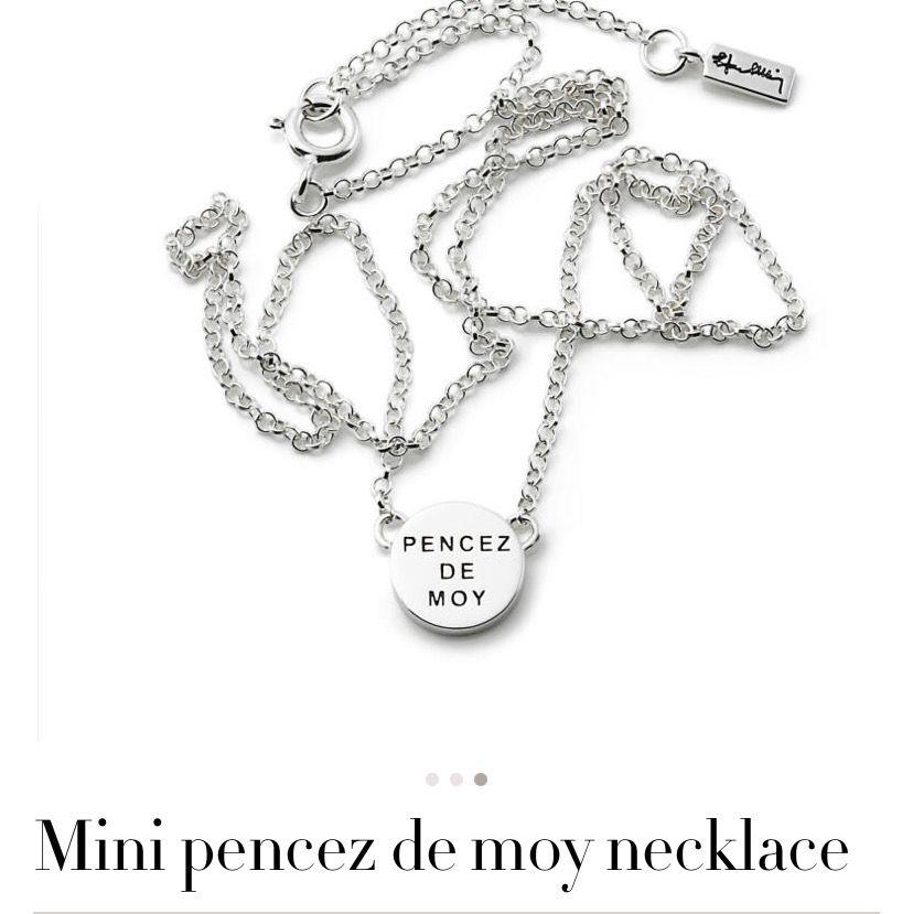 """Superfina """"Mini pencez de moy"""" örhängen och halsband i silver från Efva Attling.✨Aldrig använda pga. att jag bara använder guldsmycken. Till värde av 1900kr. Säljer för 1100 inklusive frakt och skickar såklart dem i lådan!☺️ (Postas med spårbart paket från postnord). Accessoarer."""