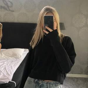 svart hoodie från hm