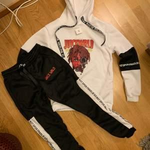 Sweatshirt/byxa med tryck (juicewrld) OBS NY! . 65% bomull/35% polyester