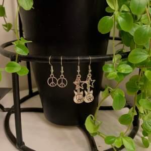svin snygga örhängen! 39 kr st! köparen står för frakten på 11 kr!💕🦋