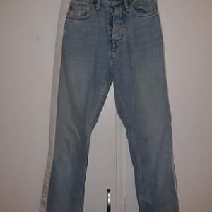 Så snygga vintage jeans med vita revärer😍❤ kan mötas i sthlm🥰