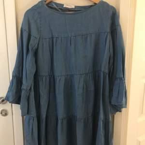 Premium denim collection. Oanvänd klänning från ZARA