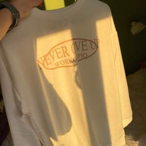 Väldigt enkel och fräsch sweatshirt med ganska tunt tyg. Beställde hem men den var tyvärr lite stor för mig, så den är helt oanvänd. Storleken är S men skulle säga att den passar som M också. Nypris 250kr (i sista bilden kan man se de rätta färgerna)