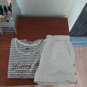 Pyjamasset från Lexington, tshirt + shorts i storlek L. 200 kr inkl frakt