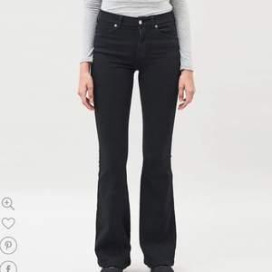 Svarta Jeans från Dr denim i modellen Macy, storlek Medium längd 30💕
