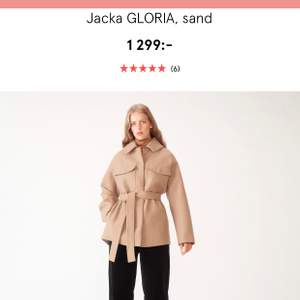 Carin Wester sand winter jacka. Used just twice, as new.