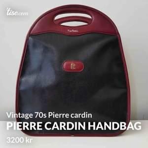 vintage från 70s Handväska totebag handbag by French designer Pierce Cardin #1970s