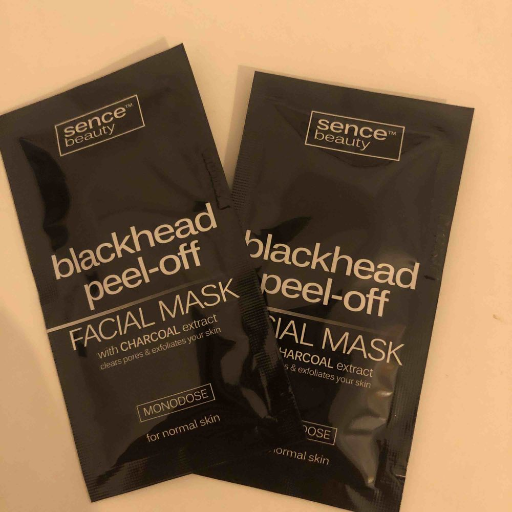Blackhead peel-off mask x2. Övrigt.