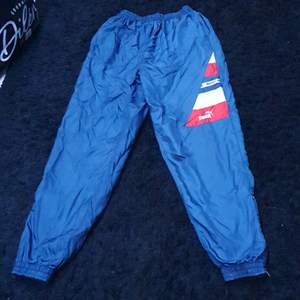 Vintage byxor, storlek 160, puma, pris kom med bud