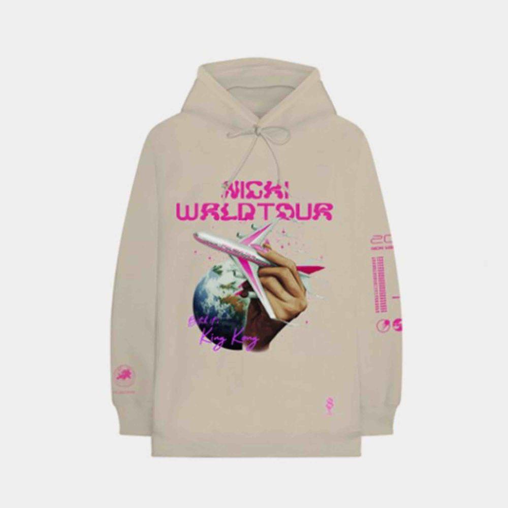 INTRESSEKOLL på min hoodie. Nicki Minaj merch, köpt på konsert för 800kr! Har en liten fläck vid ärmen, men märks knappt! Köp direkt för 400kr . Huvtröjor & Träningströjor.