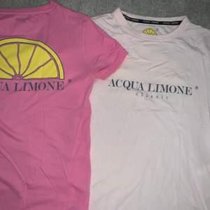 Säljer dessa två Acqua Limone tröjor i 2 super söta rosa färger. Mycket gott skick! 120kr/st +63kr spårbar frakt💕💗