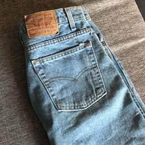 W/31 L/34 Jättefin tvätt, köpte här på plick men de passade tyvärr inte mig :(