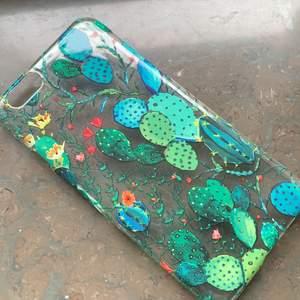 Fint mobilskal för iPhone 6/6s med växter och kaktusar på. Priset kan diskuteras💕