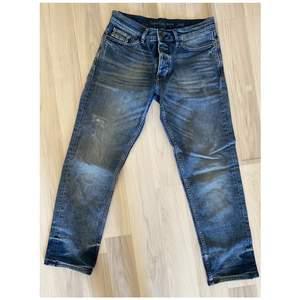 Sjukt snygga boyfriend jeans från Calvin Klein. Dom är helt oanvända & tyvärr för små för mig. W24 L30.
