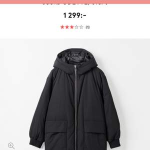 Carin Wester winter jacket, new, loose fit, XS.