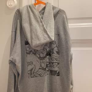 Skitcool hoodie med snyggt tryck