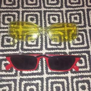 Solglasögon i bra skick säljer då de inte kommer till användning 100kr styck fri frakt