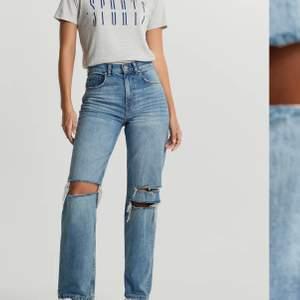 Jeans från gina. Nästan aldrig använda och fint skick! Köpta för 600kr. Skriv för fler bilder💓💓💓