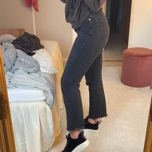 Svarta ankle jeans från NA-KD. Köpare står för frakt!