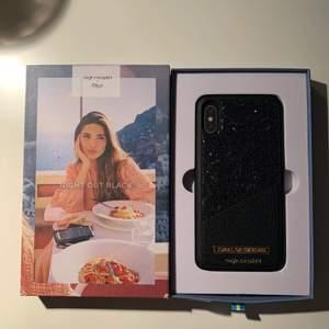 Till IPhone X. Night out black. Knappt använt. (Nypris 500kr)
