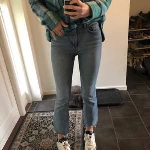 Croppade zara jeans