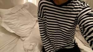 Populär randig tröja från monki, använd fåtal gånger😋