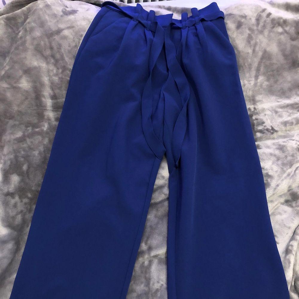 Kostymbyxor från bikbok. Näst intill oanvända🤍. Jeans & Byxor.