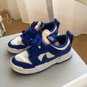 Nike W Dunk Low Disrupt från sneakersnstuff helt slutsålda använda endast fåtal gånger. tar emot bud. storlek 38