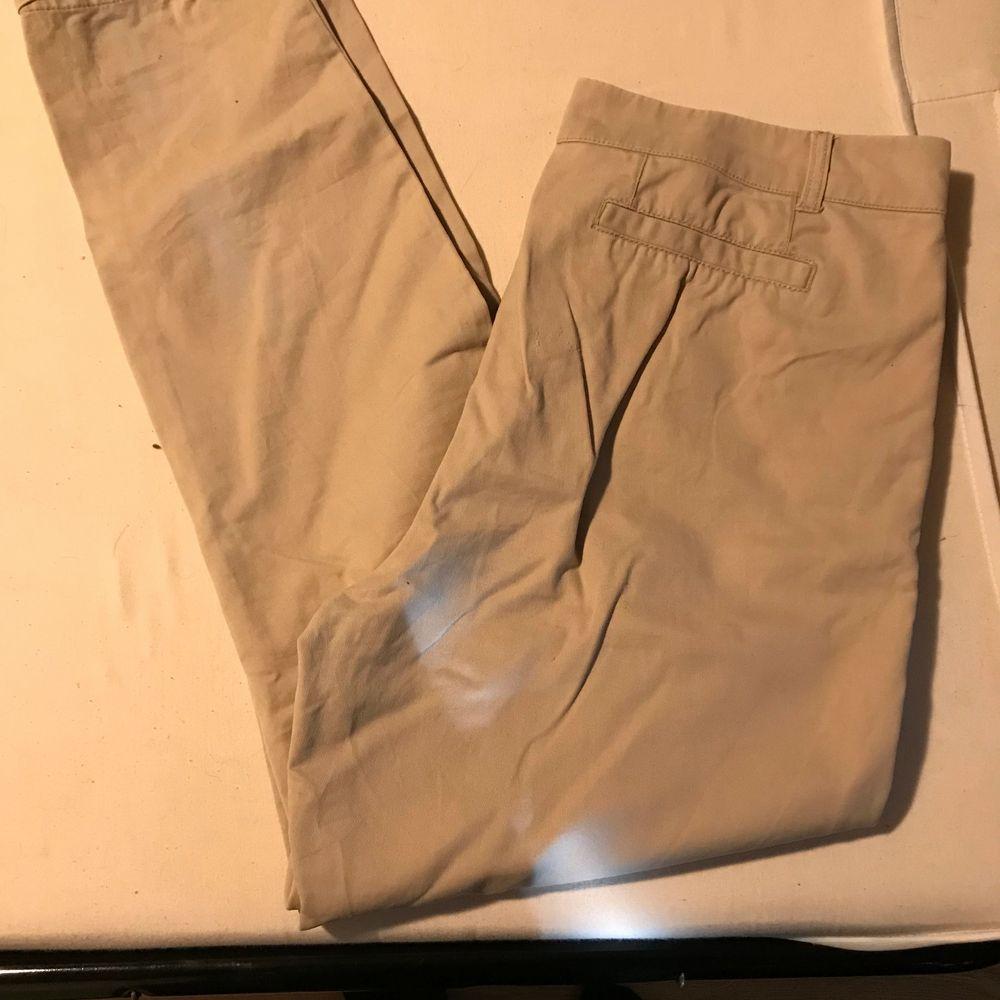Säljer dessa jätte fina byxor för jag inte längre kan ha dom. . Jeans & Byxor.