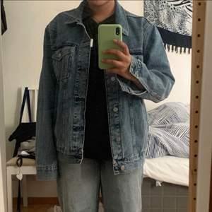 Oversized jeans jacka