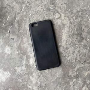 Svart iPhoneskal i silikon, inga defekter vad jag kan se💗