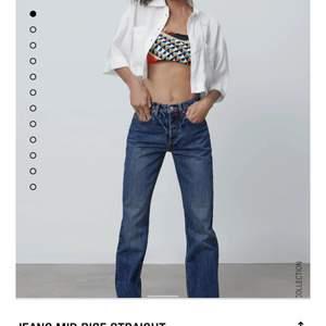 Säljer dessa superfina jeans från zara som jag använt 1 gång! Nyskick